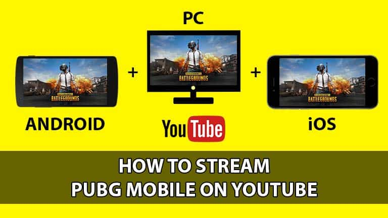 Stream PUBG Mobile Youtube